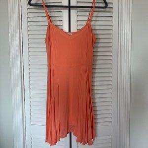 Dresses & Skirts - Coral mini dress - small